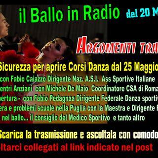 il Ballo in Radio 183 Speciale del 19 Maggio