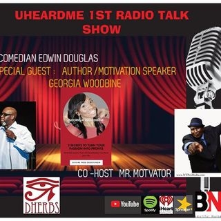 Uheardme1st RADIO TALK SHOW -AUTHOR GEORGIA WOODBINE