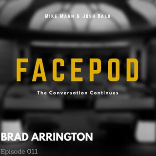 Episode 011 - Brad Arrington shuffles his papers in an attempt to appear busy.