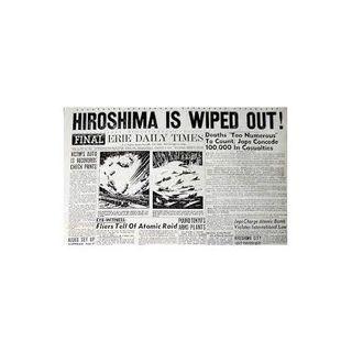 Hair on Fire News Talk Radio/Bruce Ash on Hiroshima