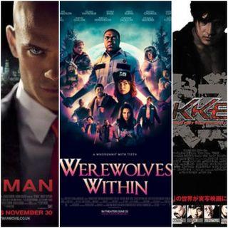 Triple Feature: Werewolves Within, Hitman and Tekken