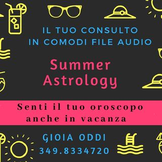 Summer Astrology