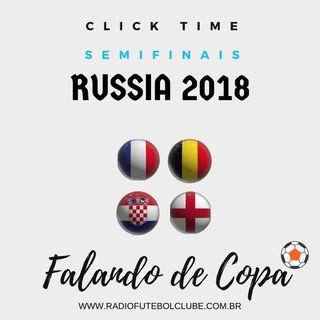 Inglaterra marca no começo e vai vencendo a Croácia em Moscou