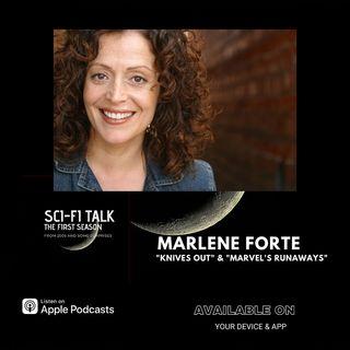 Marlene Forte On Knives Out