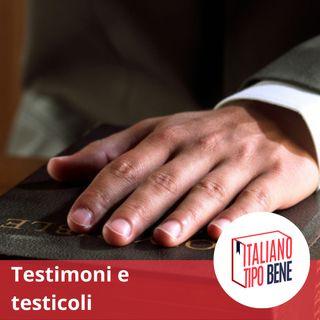 #8 - Mi è testimone il testicolo