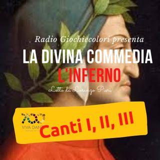 01 - Inferno (Divina Commedia - Dante Alighieri) Canti.1-2-3