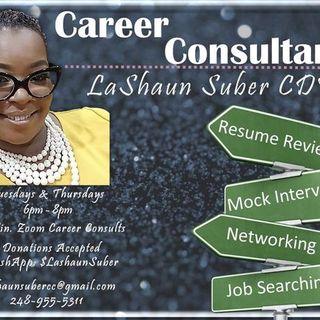 Empowering Professionals featuring LaShaun Suber, CDF Career Consultant