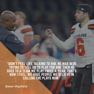 Baker Mayfield vs Hue Jackson: Who's side are you on? | BrownsTownUSA