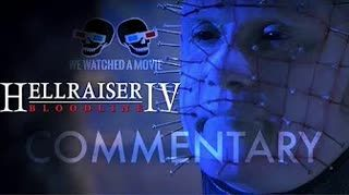 HELLRAISER BLOODLINE Full Movie Commentary