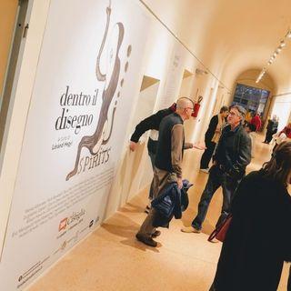 A Saluzzo la mostra Dentro il disegno - Intervista ad Alberto Dellacroce