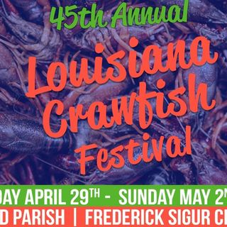 New Orleans Festivals are Back! Crawfish, Wine & Food, Hogs for the Cause; Weather, Saints Schedule!