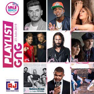 Programa 23 Julio - Playlist Gng top 30- NUEVA LISTA EXITOS MUSICALES GNG - no te pierdas la mejor musica de este Verano 2019. NUEVO Nº1