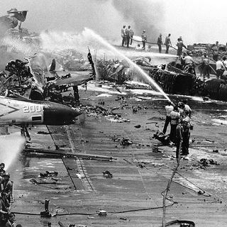 113.2. El Fantasma del Portaaviones USS Forrestal