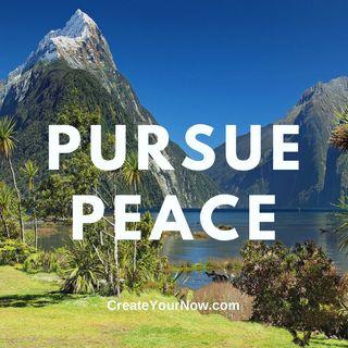 2419 Pursue Peace