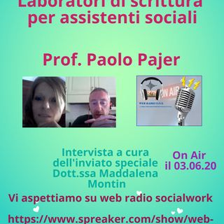 Paolo Pajer. Laboratori di scrittura per assistenti sociali