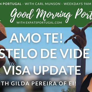 Amo Te, Castelo de Vide! | Visa update with Gilda from Ei! | The GMP!