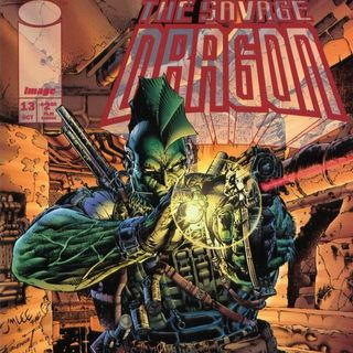 """Unspoken Issues #25 - """"The Savage Dragon"""" #13"""
