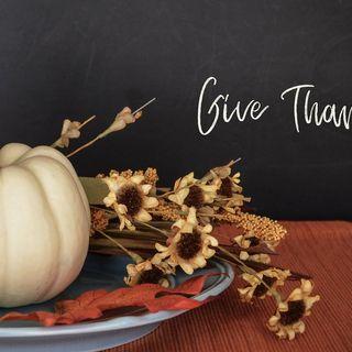 November 29 - Happy Thanksgiving