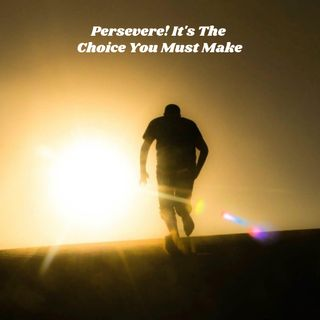 Persevere! It's The Choice You Must Make