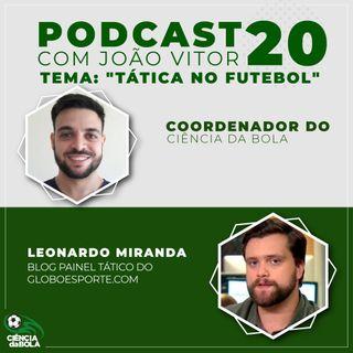Ep. 20: Tática no Futebol