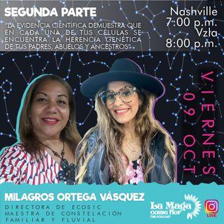 Episodio #4 Constelaciones Familiares, segunda parte con la maestra Milagros Ortega Vásquez