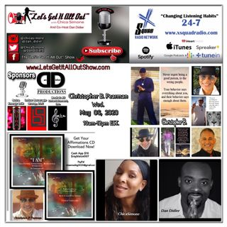 05-06-2020 Our Special Guest Today Is Christopher B. Pearman!