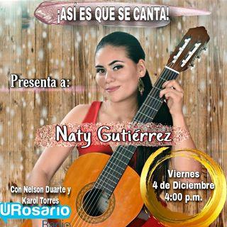Conoce a Naty Gutiérrez