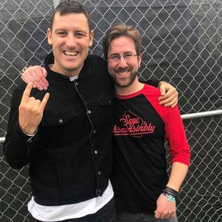 Rockcast at Northern Invasion - Winston Mccall of Parkway Drive