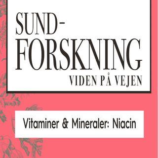 Vitaminer & Mineraler: Niacin