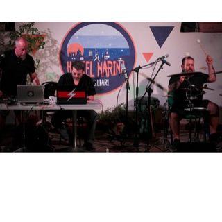 """Sardinia Archeo Festival """" AttraVERSO il MediTERRAneo """" Massimilano Murru percussioni Arnaldo Pontis electronics Roberto Belli electr. voce"""