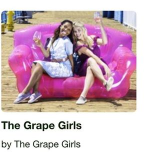 Bumming It With The Grape Girls
