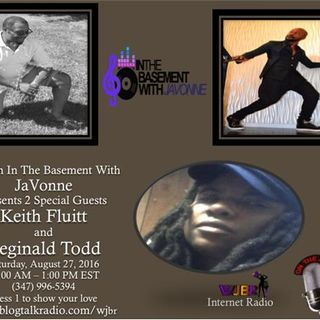 Keith Fluitt and Reginald Todd on Brunch In The Basement With JaVonne