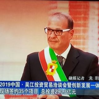 Intervista al sindaco Mitrano, il patto di amicizia Gaeta-Cina