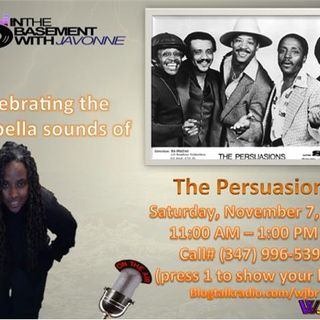 The Acappella  Sounds of The Persuasions on Brunch In The Basement With JaVonne