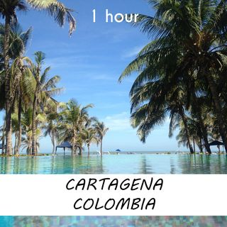 Cartagena, Colombia   1 hour RIVER Sound Podcast   White Noise   ASMR sounds for deep Sleep   Relax   Meditation   Colicky