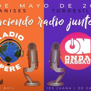 Indicativo Onda Nassau-Pere Boïl: Haciendo radio juntos