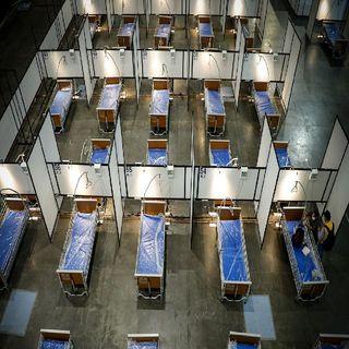 Aumentan camas de atención covid en Centro Citibanamex