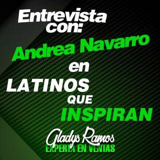 Entrevista con Andrea Romero en Latinos que Inspiran.