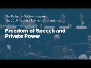 Freedom of Speech and Private Power