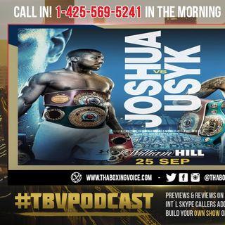 ☎️Anthony Joshua vs Oleksandr Usyk September 25th🔥Joshua Say Usyk 'JUST AS GOOD' as Tyson Fury😱