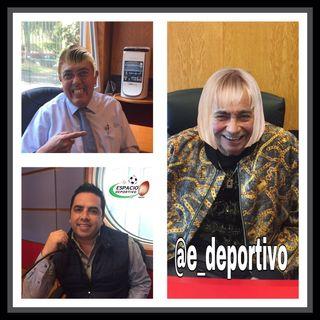 El Rudo Rivera, Pepe Segarra y Alex Cervantes en Espacio Deportivo de la Tarde 23 de Enero 2019