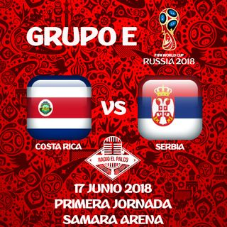 Costa Rica vs Serbia en VIVO