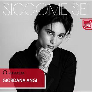 """Giordana Angi su Radio Number One: «Per """"Siccome sei"""" un grande lavoro»"""