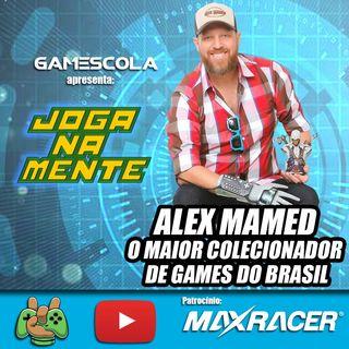 Colecionismo e histórias. A maior coleção de games do Brasil - Alex Mamed - Joga Na Mente em Casa