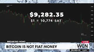 Bitcoin is Not Fiat Money and other news stories - $9260 #THS