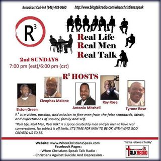 R3 REAL LIFE; REAL MEN; AND REAL TALK: Men Of Integrity! Brother Ty's Testimony!