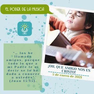 5 de enero - ¡Oh, que amigo nos es Cristo! - Etiquetas Para Reflexionar - Devocional de Jóvenes