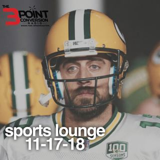 The 3 Point Conversion Sports Lounge- Are The Warriors In Trouble, NCAA Football (Who Loses First), Packers In Trouble(?), Injury Report