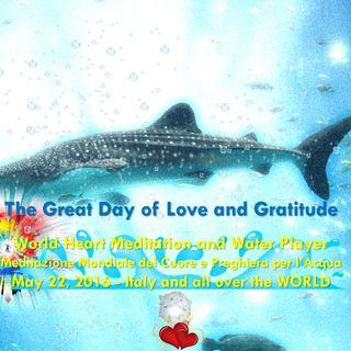 Giornata dell'Amore e della Gratitudine 2016