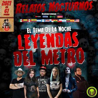 #Ep61 Leyendas Del Metro / Relatos Nocturnos MX #paranormal #leyendas #metro